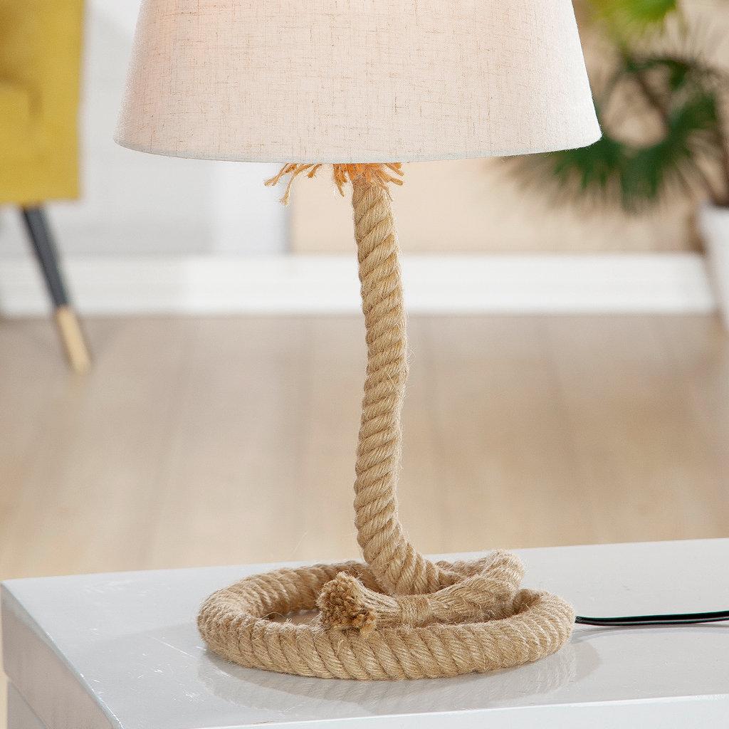 Metall Lampe Tau Design Schiffstau klein Gilde Handwerk