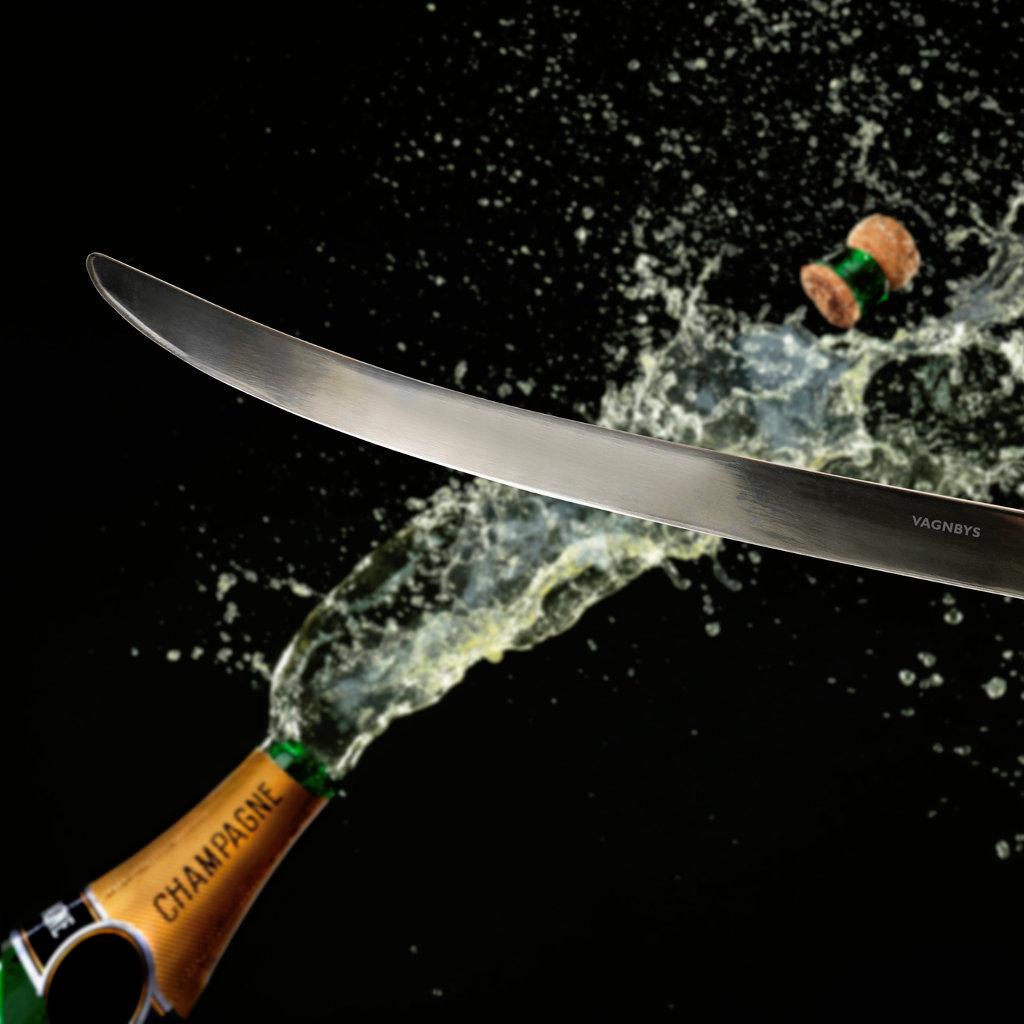 champagners bel edelstahl vagnbys champagne sabre. Black Bedroom Furniture Sets. Home Design Ideas
