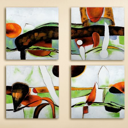 Gemälde Esspressione handgemalt Leinwand Gilde Handwerk