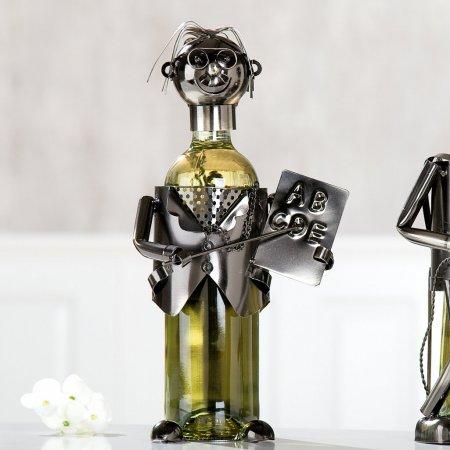 Flaschenhalter Lehrer Gilde Handwerk Weinflaschenhalter Geschenkidee