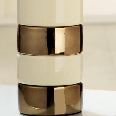 Flaschenvase Set mit zwei Teelichthalter Gilde Handwerk