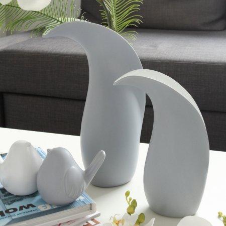 Vase Credo grau Keramik Designvase