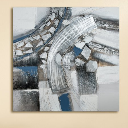 Kunstart Gemälde Name Voltare Größe 100x100cm modern art Gilde Handwerk