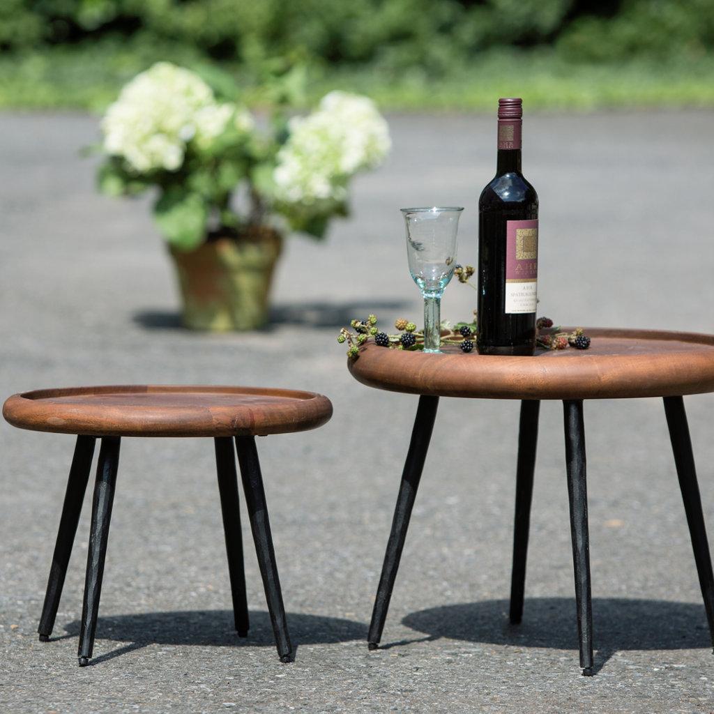 design beistelltische grado rund outdoor wetterfest aby. Black Bedroom Furniture Sets. Home Design Ideas