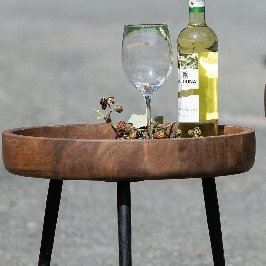 design beistelltische rovigo rund outdoor wetterfest aby. Black Bedroom Furniture Sets. Home Design Ideas