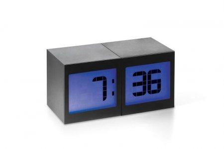 Magische Uhr TWO zwei Würfel Uhr Temperatur Luftfeuchtigkeit Kalender Wecker Philippi