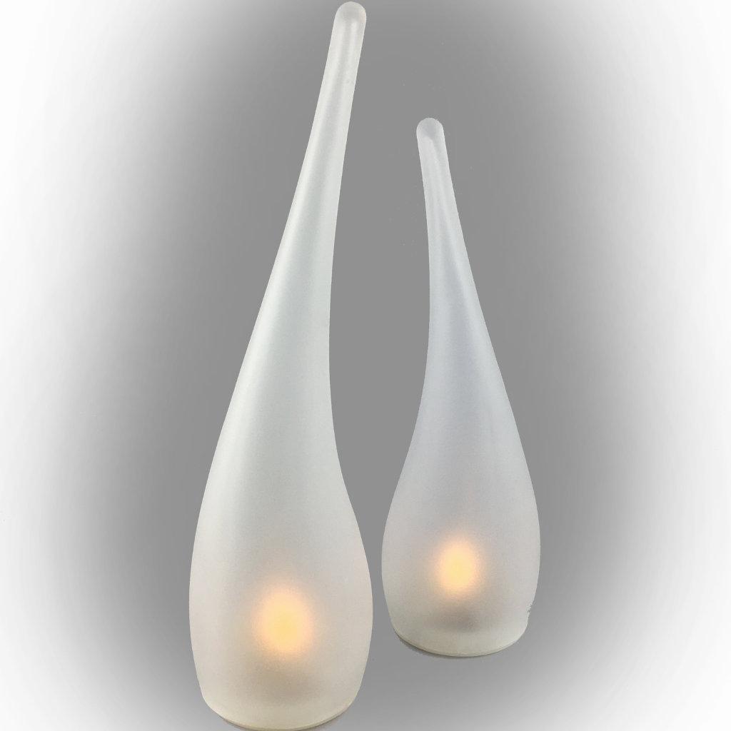 Tischdekoration Vagnbys Design & Living Flamelight LED Light Höhe 28cm Licht Dekoration