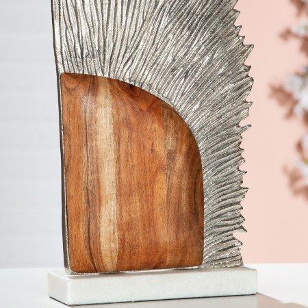 "Skulptur ""Sol"" Alu Marmor Mangoholz Gilde"