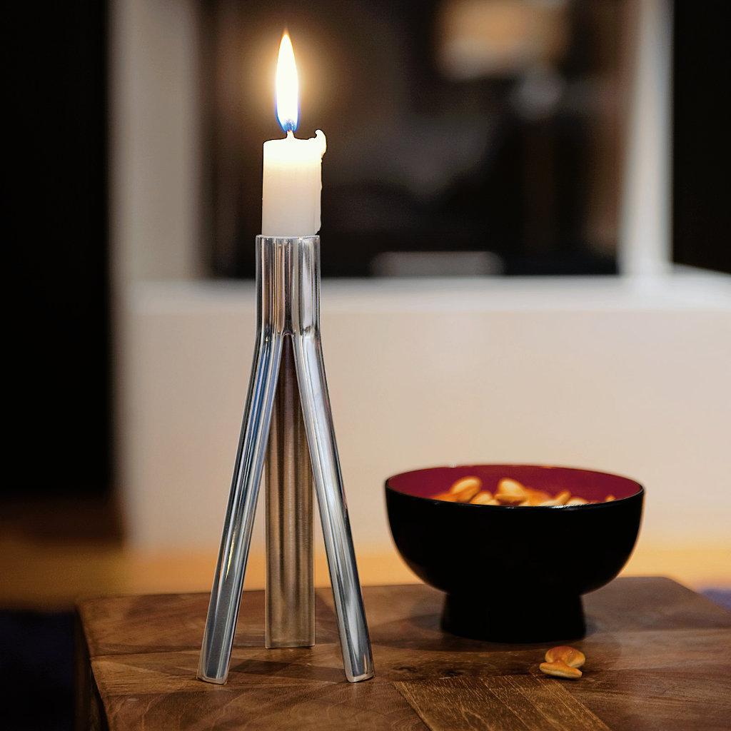 Kerzenhalter Gigolo Edelstahl poliert Philippi