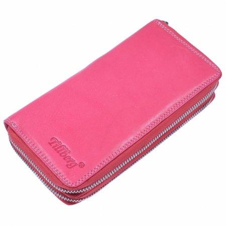 Geldbeutel Damen Leder Pink Geldbörse