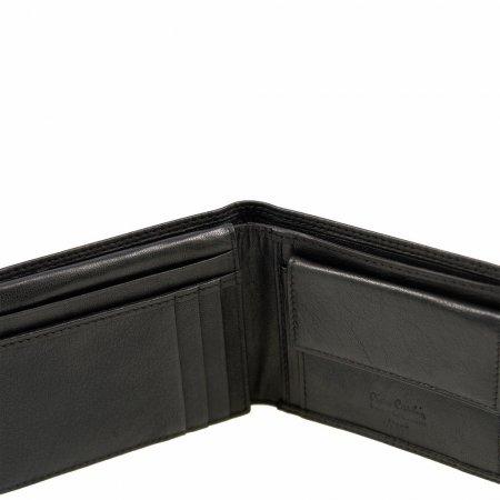 Accessoires Marke Pierre Cardin Geldbeutel Leder schwarz Geldbörse