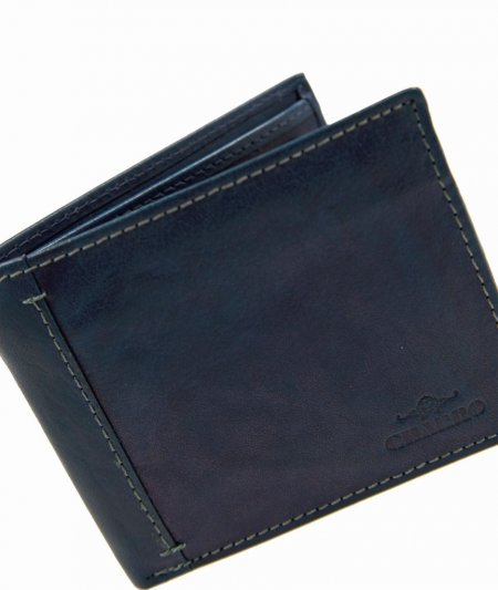 Accessoires PortemonnaieCHARRO Geldbeutel Leder Farbe blau Geldbörse