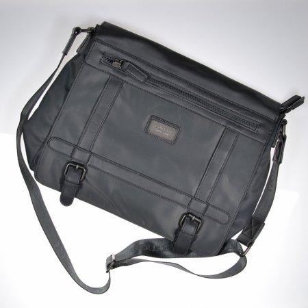 Laptoptasche grau Umhängetasche unisex Messenger Bag