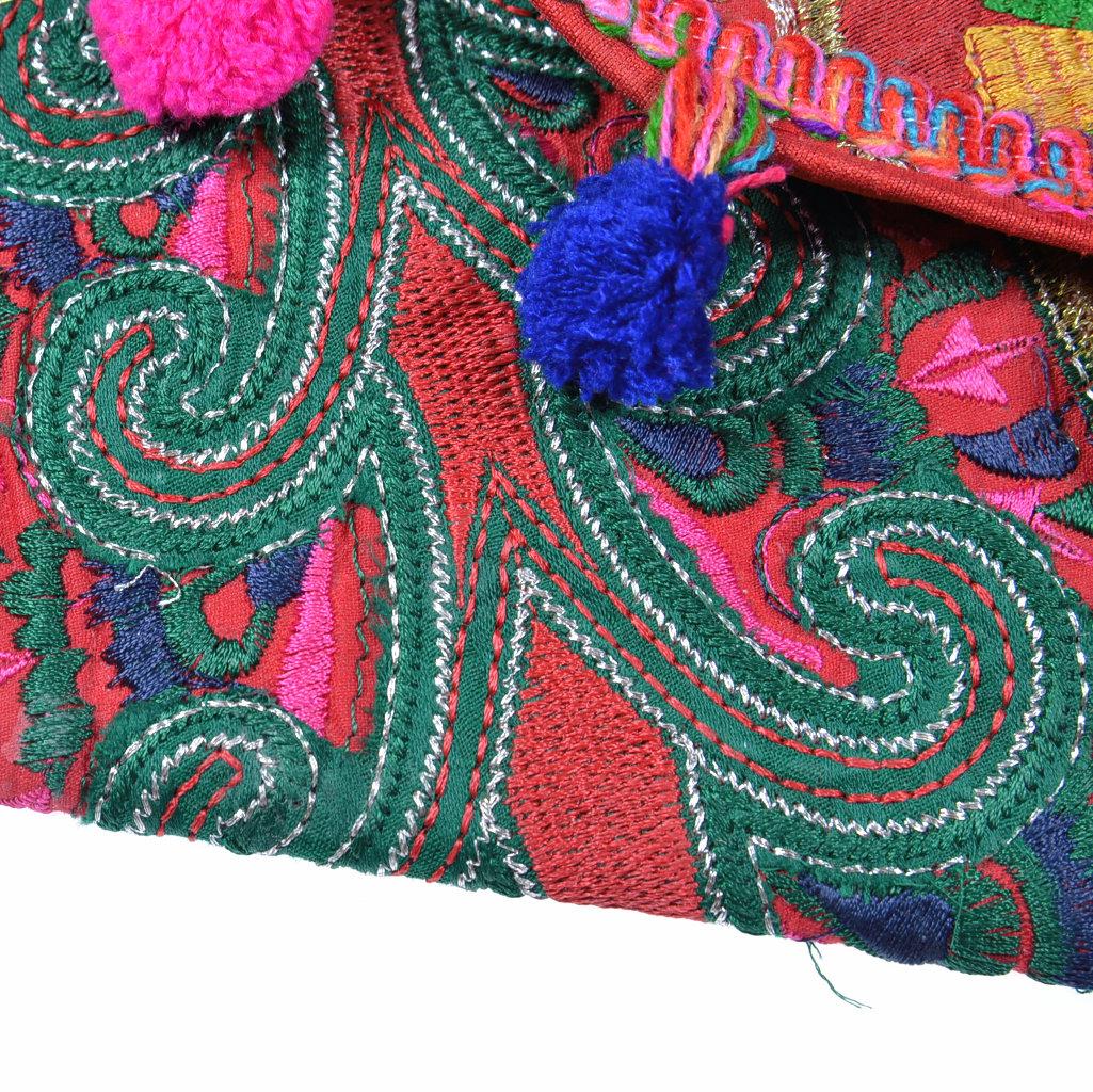 Bunte kleine Tasche Handarbeit ein Unikat aus Indien