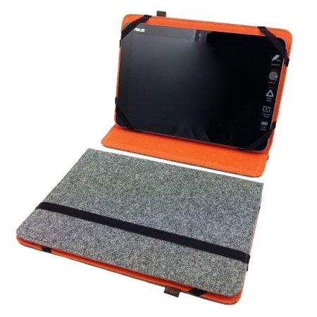 Handgemacht in Deutschland hergestellt Tablethülle Aufstellfunktion iPad und andere Schutzhülle Filz