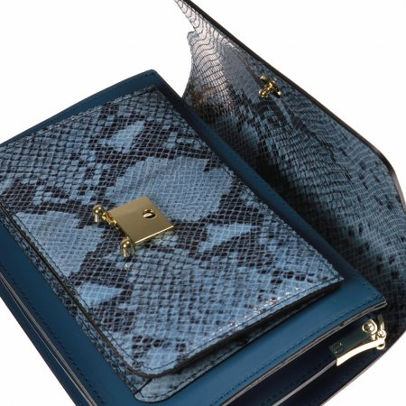 schultertasche-leder-blau-made in italy