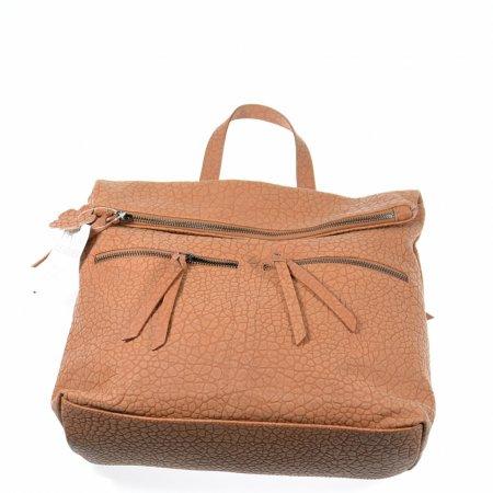 Damenrucksack Handtasche hellbraun Ledertasche Shopper