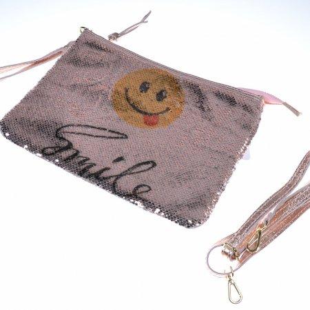 clutch-envelope-clutch-smile-emoji-pailletten-leder-rose
