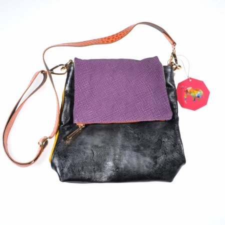 Ledertasche ebarrito Marianne Bag bunt Made in Italy
