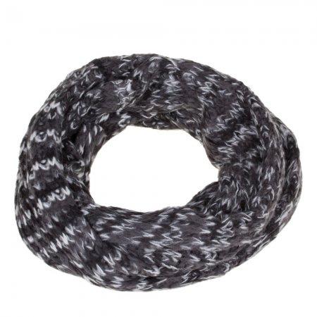Loop Schlauchschal schwarz weiß grau Schal unisex Acrylic