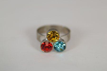 Modeschmuck Fingerschmuck Ring Swarovski Steine